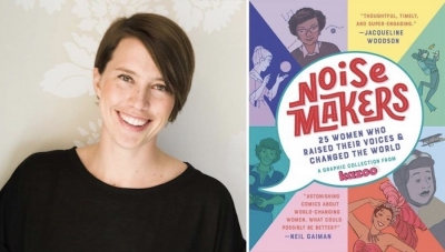 Fanbase Press Interviews Erin Bried on the Graphic Novel Anthology, 'Noisemakers: 25 Women Who Raised Their Voices & Changed the World'