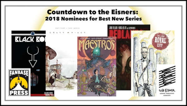 Countdown to the Eisners: 2018 Nominees for Best New Series