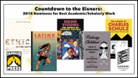 Countdown to the Eisners: 2018 Nominees for Best Academic/Scholarly Work