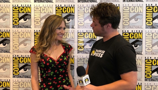 SDCC 2018: Fanbase Press Interviews Julie Nathanson on Silver Banshee and 'LEGO DC Super-Villains'