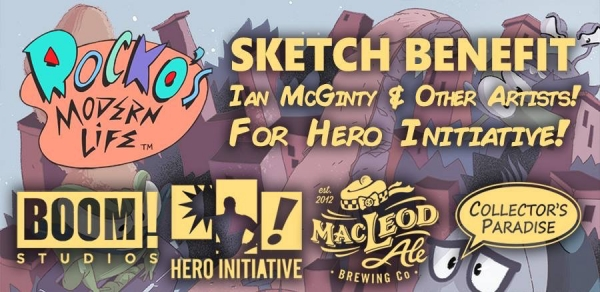 #GeeksCare: How You Can Help the Hero Initiative with Collector's Paradise and 'Rocko's Modern Life'
