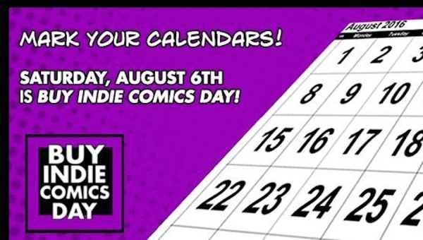 Join The Comic Bug & Over 40 Indie Creators for the Annual Buy Indie Comics Day (August 6)