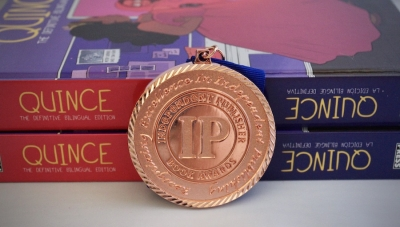 Fanbase Press Announces 2020 Independent Publisher Book Award (IPPY) Win for 'Quince: The Definitive Bilingual Edition'
