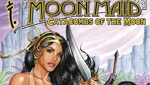 'Moon Maid: Catacombs of the Moon #1' - Comic Book Review