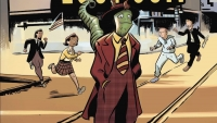Fanbase Press Interviews Writer/Artist Marco Finnegan on the YA Graphic Novel, 'Lizard in a Zoot Suit,' from Graphic Universe