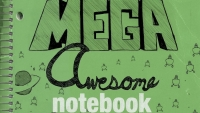 Fanbase Press Interviews Kevin Minor on the Release of 'Mega Awesome Notebook' from Schiffer Publishing