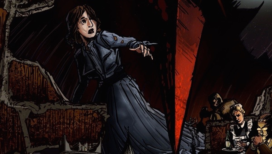 Fanbase Press Interviews Enrica Jang (Red Stylo Media) on Her Creator-Owned Trade Paperback, 'House of Montresor'