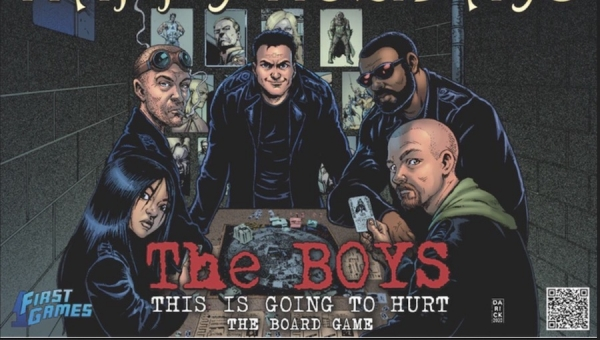 Fanbase Press Interviews Game Developer Jon Levin on Launching the Kickstarter Campaign for 'The Boys: This Is Going to Hurt'