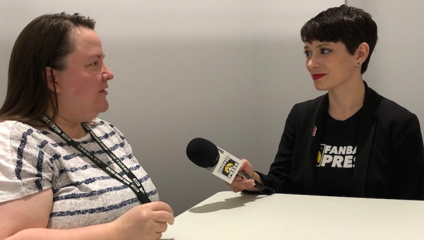 SDCC 2018: Fanbase Press Interviews Pia Guerra ('Y: The Last Man') on 'Me the People' and Cartooning in the Age of Trump