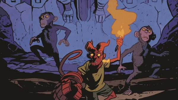 'Young Hellboy: The Hidden Land #3' - Advance Comic Book Review