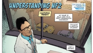 Fanbase Press Interviews Vanessa Shealy and David Gallaher on 'Understanding NF2' from the Children's Tumor Foundation and Bottled Lightning